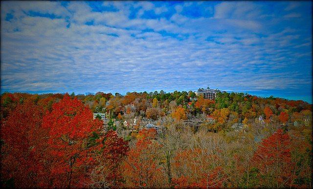 Arkansas fall foliage