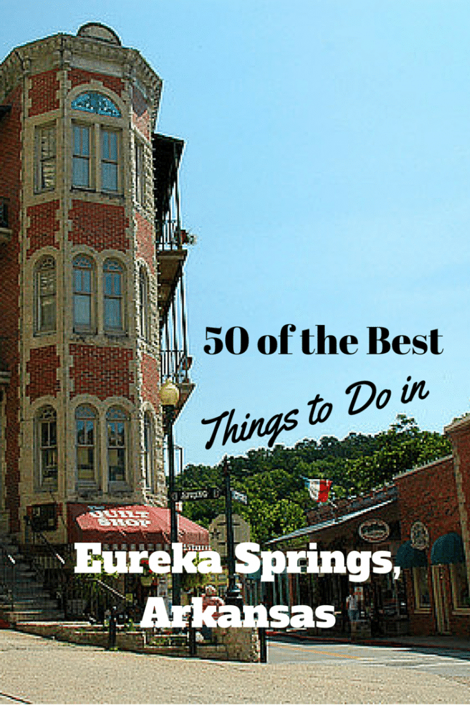 Top 50 Eureka Springs Attractions Arsenic Old Lace