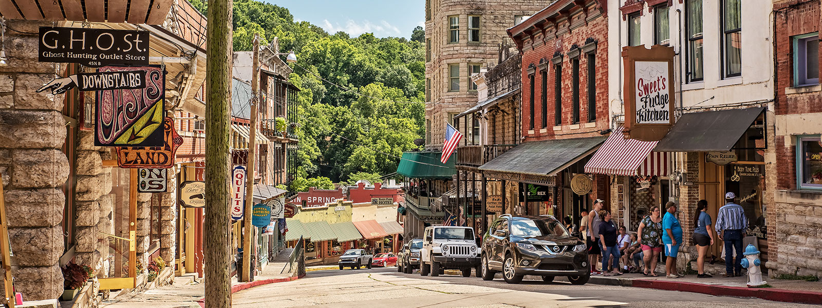 The Best Things to do in Eureka Springs are in Downtown Eureka Springs