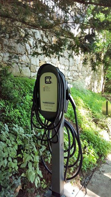 EV & Tesla Charging Station at our Eureka Springs Bed and Breakfast