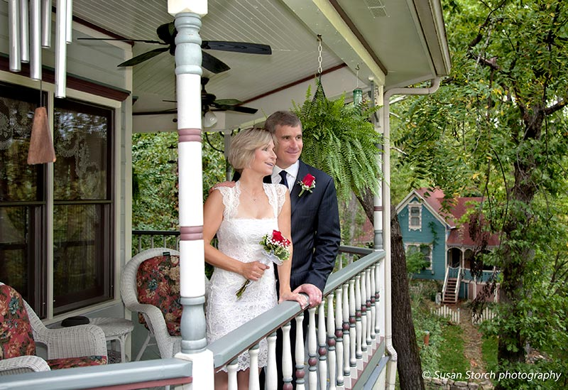 Plan an elopement or honeymoon at our romantic Eureka Springs Bed and Breakfast