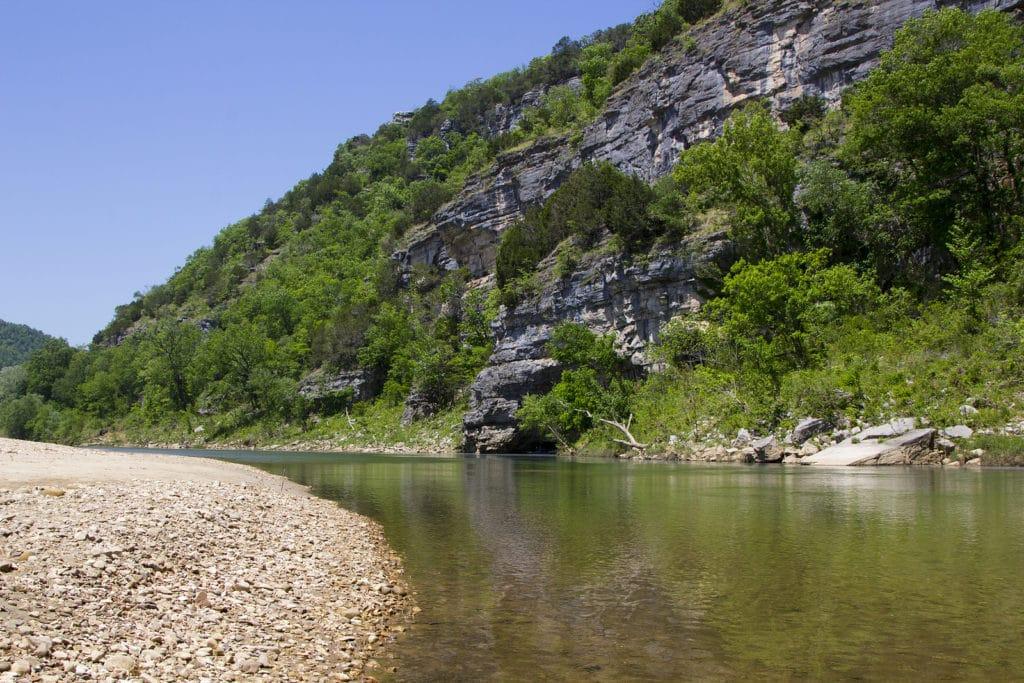 Buffalo National River Near Kings River Falls