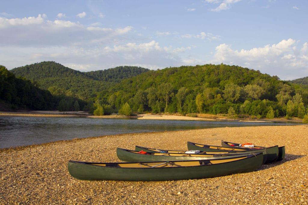 Buffalo National River Near Eureka Springs