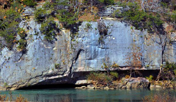 Floating on the Buffalo National River Near Eureka Springs