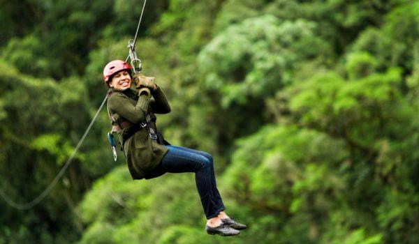 A treetop adventure awaits with Ozark Mountain Ziplines