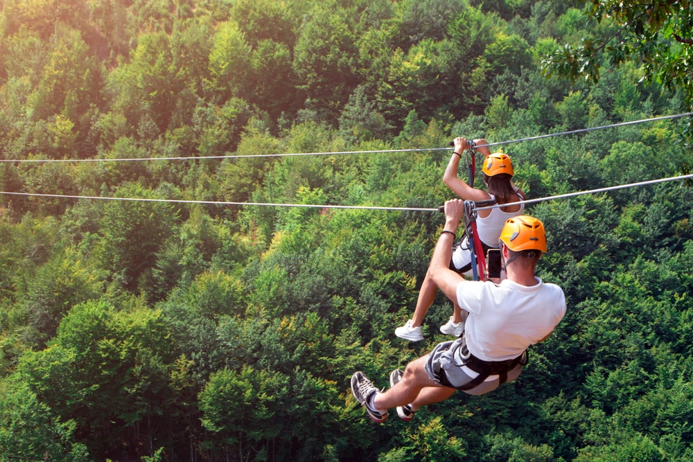 Enjoy a ziplining adventure with Ozark Mountain Ziplines This Summer